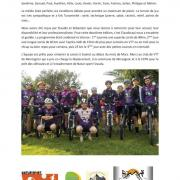 Compte rendu Stage Team XC VTT Montagrier l