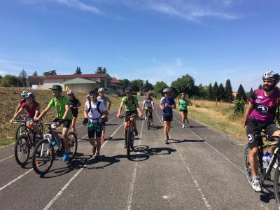 Bike and run