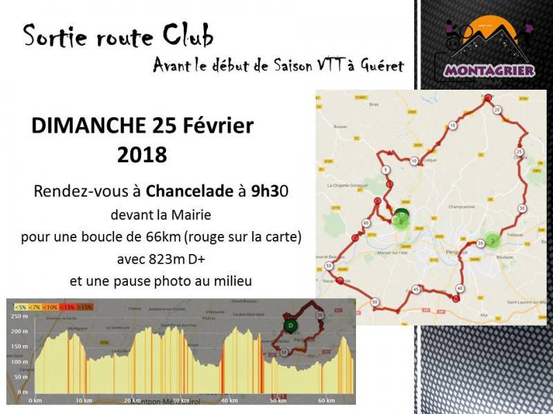 Sortie route club 25 02 18