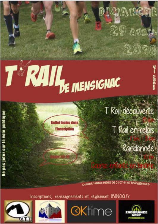 Trail mensignac 2018